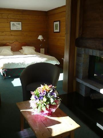 Location au ski Suite Junior (2 personnes) - Hotel Mont Vallon - Mottaret - Chambre