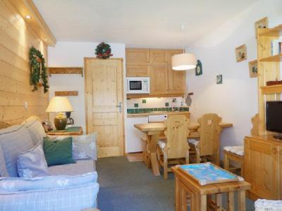 Location au ski Appartement 2 pièces coin montagne 5 personnes (C05) - Residence Alpinea - Mottaret - Banquette-lit tiroir