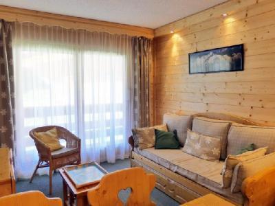 Location au ski Appartement 2 pièces coin montagne 5 personnes (C05) - Residence Alpinea - Mottaret - Lits superposés