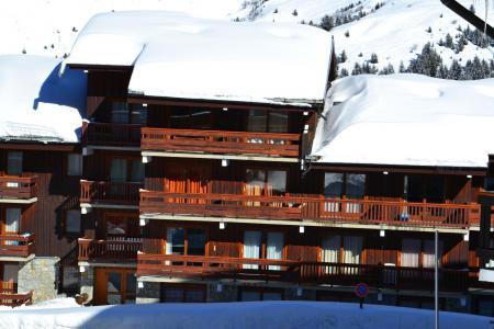 Location au ski Residence Alpinea - Mottaret - Extérieur hiver