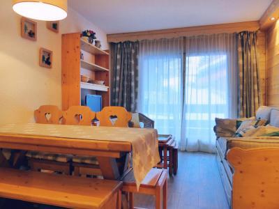 Location au ski Appartement 2 pièces coin montagne 5 personnes (C05) - Residence Alpinea - Mottaret - Extérieur hiver