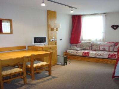 Location au ski Studio 4 personnes (013) - Residence Arpasson - Mottaret - Coin repas