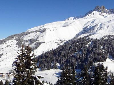 Location au ski Appartement duplex 3 pièces 7 personnes (007) - Residence Asphodeles - Mottaret - Banquette