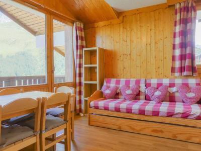 Location au ski Appartement duplex 3 pièces 7 personnes (007) - Residence Asphodeles - Mottaret - Chambre mansardée