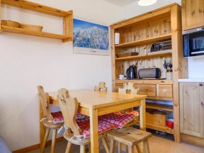 Location au ski Appartement 2 pièces 5 personnes (A1) - Residence Cimes I - Mottaret - Coin repas
