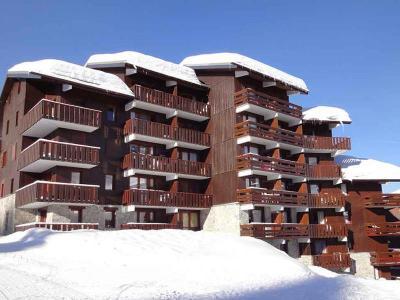Location au ski Residence Cimes I - Mottaret - Extérieur hiver