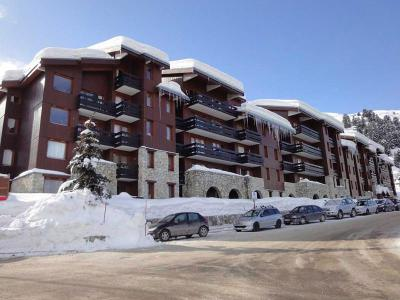 Location Méribel-Mottaret : Residence Creux De L'ours Rouge hiver