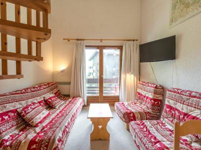 Location au ski Appartement duplex 3 pièces 7 personnes (027) - Residence Erines - Mottaret - Extérieur hiver