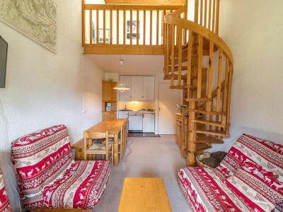 Location au ski Appartement duplex 3 pièces 7 personnes (027) - Residence Erines - Mottaret - Escalier