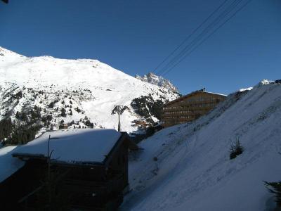 Location au ski Studio cabine 4 personnes (10) - Residence Gentianes - Mottaret - Baignoire