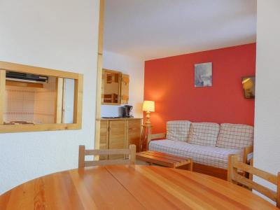 Location au ski Studio cabine 4 personnes (10) - Residence Gentianes - Mottaret - Séjour
