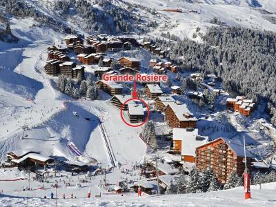 Location au ski Residence Grande Rosiere - Mottaret - Extérieur hiver