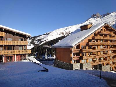 Location au ski Studio 4 personnes (27) - Residence Grande Rosiere - Mottaret - Table