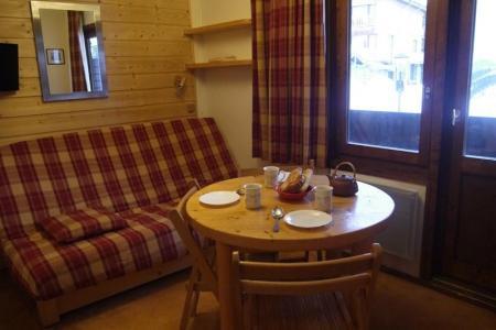 Location au ski Studio 3 personnes (019) - Residence La Grande Rosiere - Mottaret - Banquette