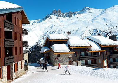 Location au ski Residence Le Hameau Du Mottaret - Mottaret - Extérieur hiver