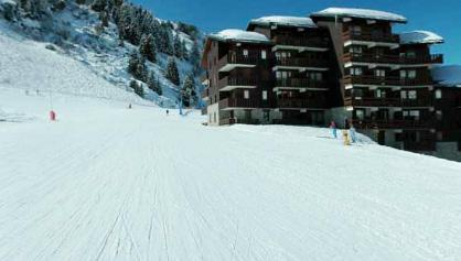 Location au ski Studio 4 personnes - Residence Le Hameau Du Mottaret - Mottaret - Extérieur hiver