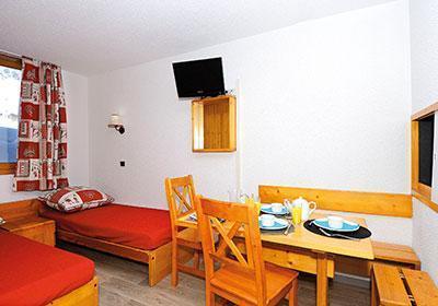 Location au ski Residence Le Hameau Du Mottaret - Mottaret - Coin repas
