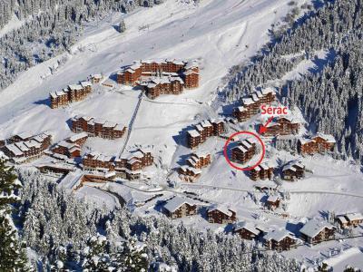 Location Méribel-Mottaret : Residence Le Serac hiver