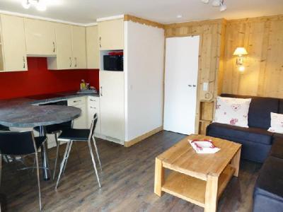 Location au ski Appartement 2 pièces cabine 6 personnes (05) - Residence Le Serac - Mottaret - Kitchenette
