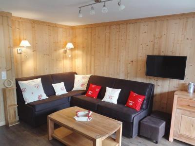 Location au ski Appartement 2 pièces cabine 6 personnes (05) - Residence Le Serac - Mottaret - Séjour