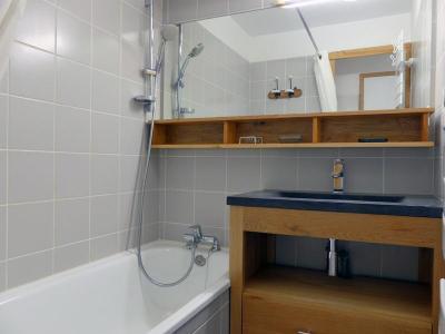 Location au ski Appartement 2 pièces cabine 6 personnes (05) - Residence Le Serac - Mottaret - Extérieur hiver