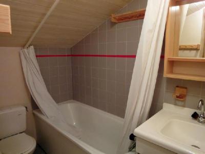 Location au ski Appartement duplex 3 pièces 5 personnes (020) - Residence Les Ancolies - Mottaret - Baignoire