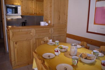 Location au ski Appartement 3 pièces cabine 7 personnes (003) - Residence Les Plattieres - Mottaret