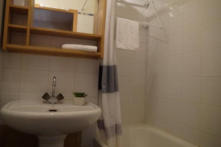 Location au ski Appartement 2 pièces 4 personnes (002) - Residence Les Plattieres - Mottaret - Coin repas