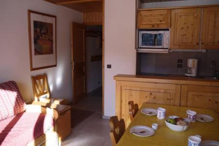 Location au ski Appartement 2 pièces 4 personnes (002) - Residence Les Plattieres - Mottaret - Lits superposés