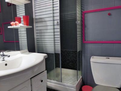 Location au ski Studio duplex 4 personnes (007) - Residence Mottaret - Mottaret - Intérieur