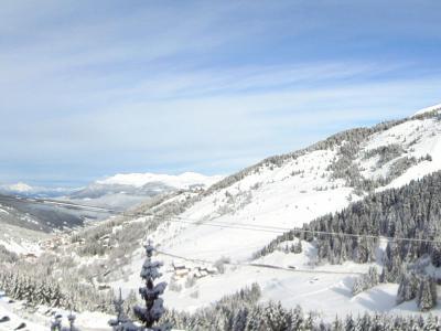 Location au ski Studio duplex 4 personnes (007) - Residence Mottaret - Mottaret - Mezzanine