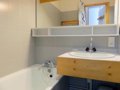 Location au ski Studio cabine 4 personnes (006) - Residence Olympie I - Mottaret - Plan