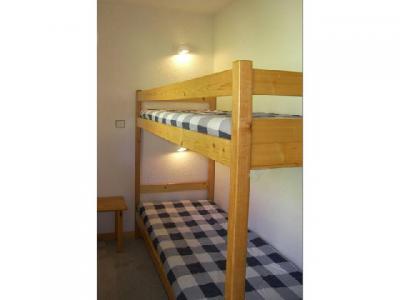 Location au ski Studio cabine 4 personnes (006) - Residence Olympie I - Mottaret - Lits superposés