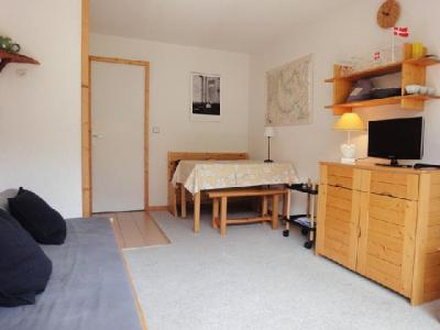 Location au ski Studio cabine 4 personnes (006) - Residence Olympie I - Mottaret - Séjour