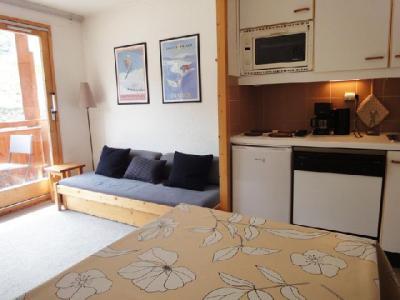 Location au ski Studio cabine 4 personnes (006) - Residence Olympie I - Mottaret - Wc