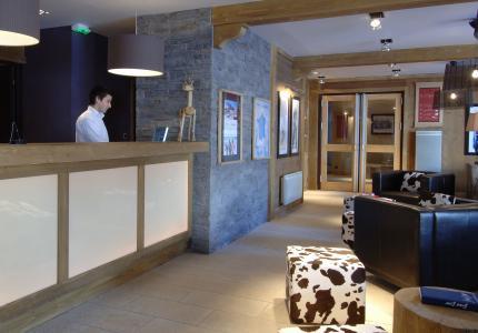 Location au ski Residence P&v Premium Les Crets - Mottaret - Réception