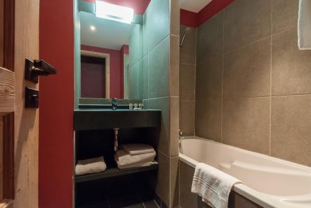 Location au ski Residence P&v Premium Les Crets - Mottaret - Salle de bains