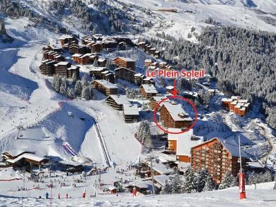 Location au ski Residence Plein Soleil - Mottaret - Extérieur hiver