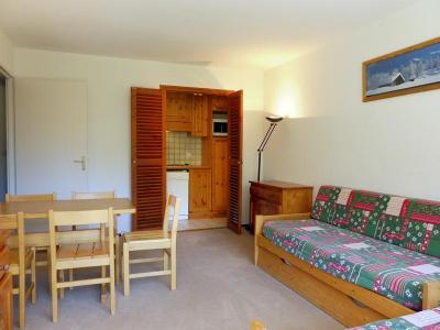 Location au ski Appartement 2 pièces 5 personnes (608) - Residence Plein Soleil - Mottaret - Extérieur hiver