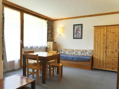 Location au ski Studio 3 personnes (600) - Residence Plein Soleil - Mottaret - Coin repas