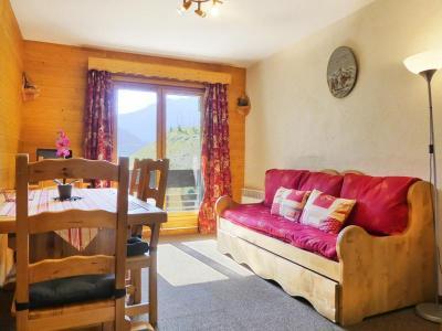 Location au ski Appartement 2 pièces 4 personnes (014) - Residence Proveres - Mottaret - Extérieur hiver