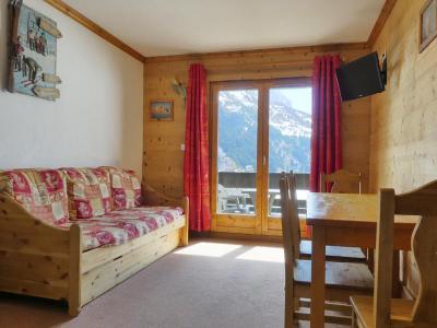 Location au ski Appartement 2 pièces 4 personnes (012) - Residence Proveres - Mottaret - Séjour