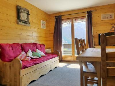 Location au ski Appartement 2 pièces 4 personnes (029) - Residence Proveres - Mottaret - Banquette