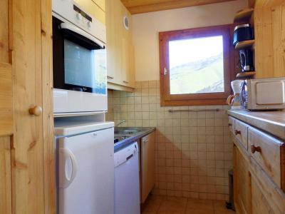 Location au ski Appartement 3 pièces 7 personnes (017) - Residence Proveres - Mottaret - Lit armoire 2 personnes