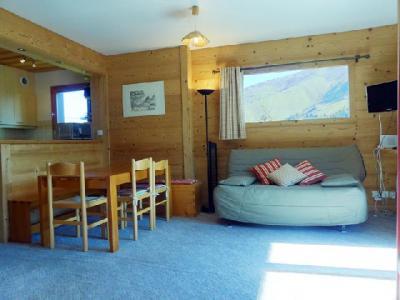 Location au ski Appartement 3 pièces 7 personnes (017) - Residence Proveres - Mottaret - Table