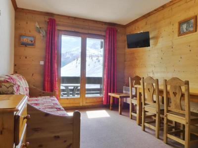 Location au ski Appartement 2 pièces 4 personnes (012) - Residence Proveres - Mottaret - Extérieur hiver