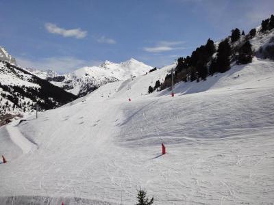Location au ski Appartement 3 pièces mezzanine 7 personnes (29) - Residence Saulire - Mottaret - Fauteuil