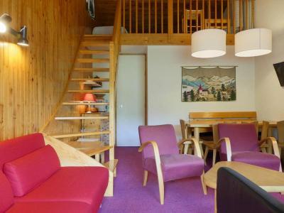 Location au ski Appartement 3 pièces mezzanine 7 personnes (29) - Residence Saulire - Mottaret - Table basse