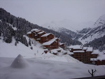Location au ski Studio 4 personnes (524) - Residence Tueda - Mottaret - Extérieur hiver