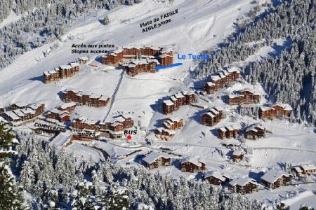 Location au ski Appartement 2 pièces cabine 6 personnes (024) - Residence Vanoise - Mottaret